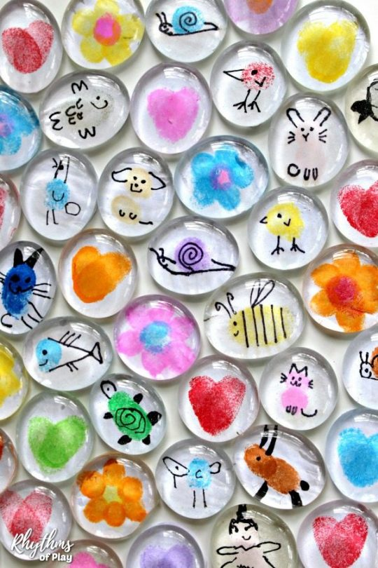 Fingerprint-Art-Glass-Magnets-Pin-5